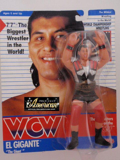 WCW galoob社製  エル・ヒガンテ・ザ・ジャイアント '91年ヨーロッパ限定  UKカード版