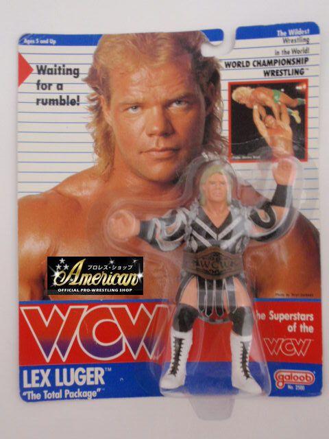 WCW  galoob社製  レックス・ルガー(ジャケット) '91年ヨーロッパ限定  UKカード版  \18000