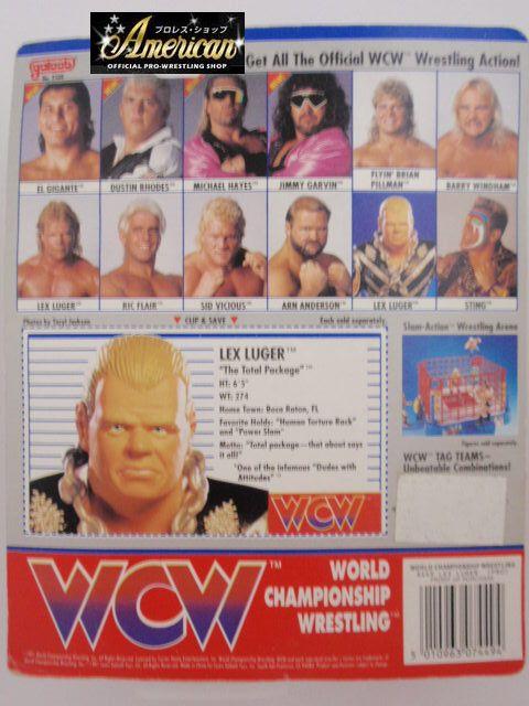 WCW  galoob社製  レックス・ルガー(ジャケット) '91年ヨーロッパ限定  UKカード版