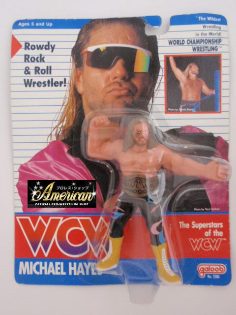 WCW galoob社製  マイケル・ヘイズ '91ヨーロッパ限定English版
