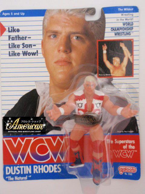 WCW galoob社製  ダスティン・ローデス '91年ヨーロッパ限定  UKカード版 ¥23000