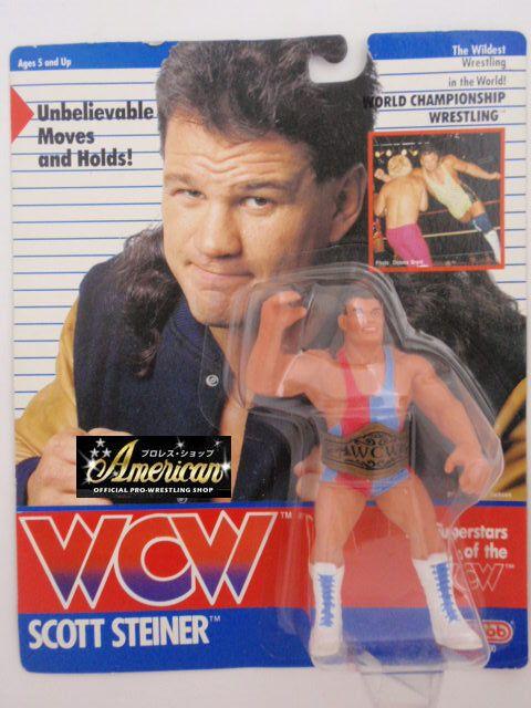 WCW galoob社製 `91年版  スコット・スタイナー  UKカード版