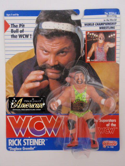 WCW galoob社製 `91年版 リック・スタイナー   UKカード版