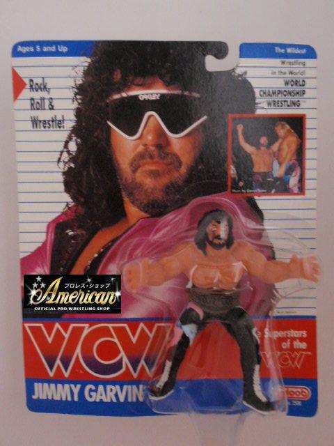 WCW galoob社製  ジミー・ガービン '91年ヨーロッパ限定  UKカード版
