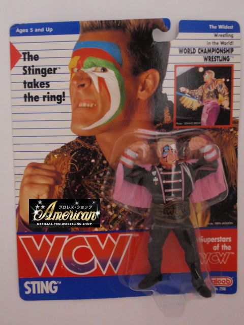 WCW  galoob社製  スティング(ジャケット) '91年ヨーロッパ限定  UKカード版