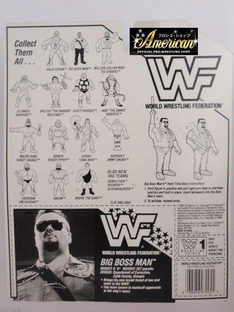 '90年版 ビッグ・ボスマン #1  (ブルーカード)  USカード版