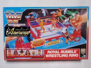 Hasbro社製1991年WWF Royal Rumble  US版