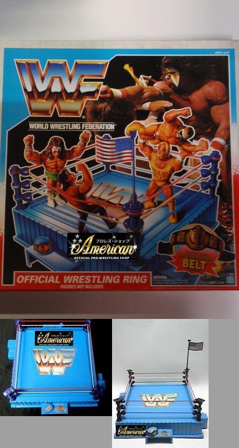 ハズボロ社WWF・フィギュア専用'90年版 オフィシャル・リング
