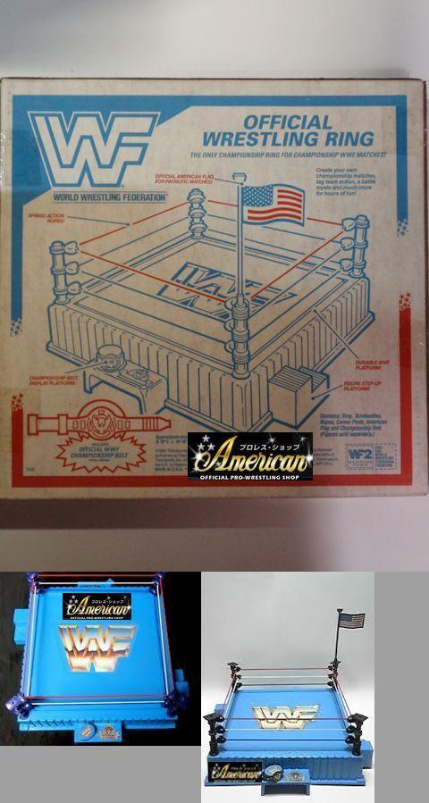 ハズボロ社WWF・フィギュア専用  '91年版 オフィシャル・サウンド・リング  「8種類のライブ・サウンド・キーボード付き」