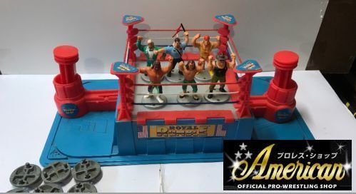Hasbro社製1991年WWF Royal Rumble  US版