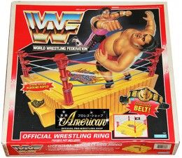 HASBRO社製 WWF・フィギュア専用'92年版' KING OF THE RING WRESTLING RING US版