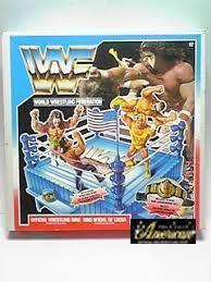 Hasbro社製WWF・フィギュア専用'90年版 オフィシャル・リング US版