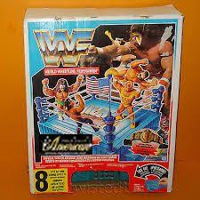 Hasbro社製WWF・フィギュア専用  '91年版 オフィシャル・サウンド・リング  「8種類のライブ・サウンド・キーボード付き」 US版
